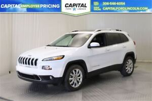 2015 Jeep Cherokee Limited 4WD **New Arrival**