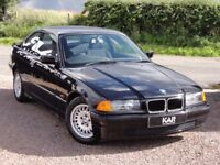 BMW E36 316i Coupe, Manual, 1994 / M Reg, Only 50k Miles, 1 Lady Owner, Black