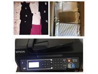 EPSON A4 Sublimation Printer WF2630WF Dye Wireless heat press iPad mini cases t-shirts Photocopy