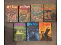 HARRY POTTER FIRST EDITION AMERCIAN BOOKS