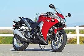 Two Bikes.  2012 Honda CBR250R & 2014 YamahaTTR230