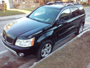 2006 Black Pontiac Torrent SUV