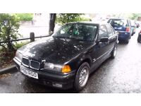 Bmw 316 petrol automatic mot till 2018 needs repaired starts and drives