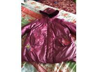 Girls waterproof coat 3-4 years