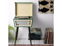 Crosley UO X Dansette Sterling Standing Vinyl Record Player