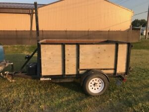 Rhino Trailer Manufactured Dump Trailer