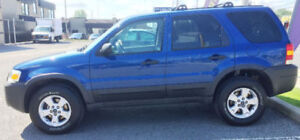 2007 Ford Escape 4X4 XLT