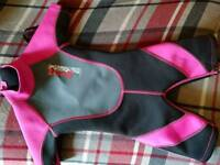 Girls age 3 Wetsuit
