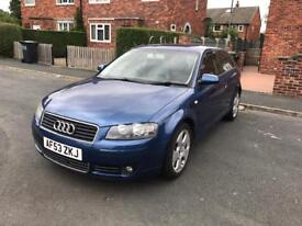 2003 - Audi A3 2.0 FSI Sport with leather seat