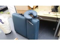 Professional quality massage bed - £35 from house clearance