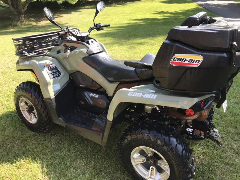 2016 Can Am Outlander L Max EPS 570 with warranty