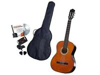 Classical Acoustic Guitar - brand new, unbowed