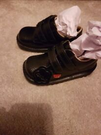 Kickers low school shoes bradnew wee boy went up size during holidays size 8
