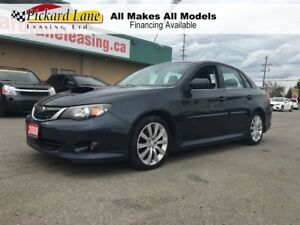 2008 Subaru Impreza WRX $236.93 BI WEEKLY! $0 DOWN! WRX! SEDAN!