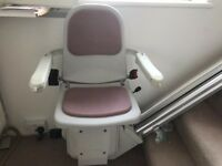 ACORN Superglide Straight Stairlift - in excellent condition