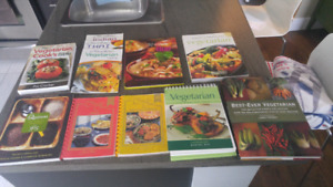 Vegetarian Cookbook Library!