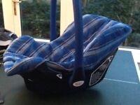 Britax rockatot baby car seat
