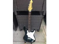Aria Pro 2 Fullerton Midnight blue in Excellent condition (Stratocaster style guitar) (might swap)
