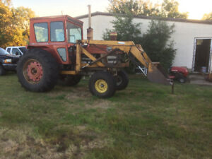 1130 Massey tractor with loader 135hp