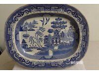 Willow Pattern Dish