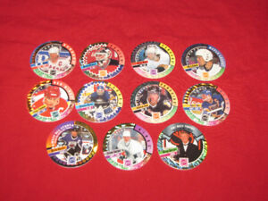 1994-95 NHL Pogs: Partial set (313 out of 376)