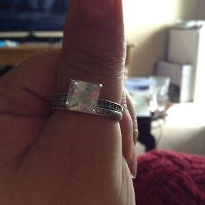Sterling silver ring size 10