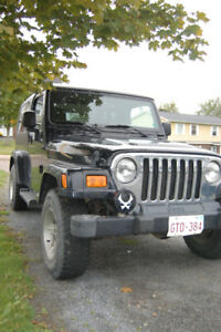 2005 Jeep Wrangler Convertible