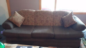 Used Sofa/Love seat/Chair set for $300