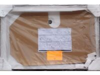 SHOWER TRAY NEW 122X78CM WHITE CORAM 3 UPSTAND WITH FITTINGS, RRP £204, ONLY £90 CAN DELIVER