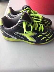 Indoor soccer shoes - kids size 12