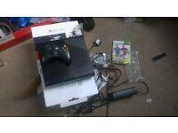 console x box 360 ,500 gb as new used twice