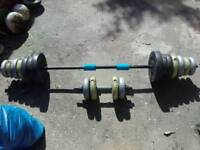 Gym Weights Barbell