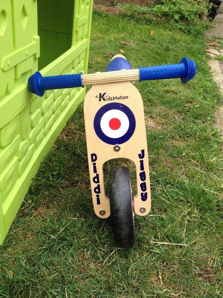 Kidzmotion Wooden Balance Bike In Burghfield Common Berkshire