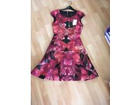 Ted baker size 0 eeky dress
