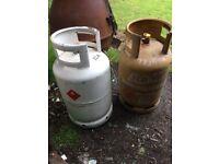13kg full un open gas bottle