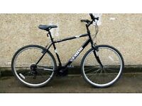 """Men's hybrid large 21"""" frame city bike"""