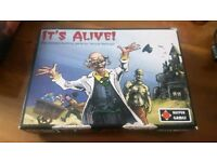 It's Alive board game. Fun for adults and children