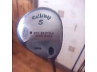 CALLAWAY BIG BERTHA 5 wood