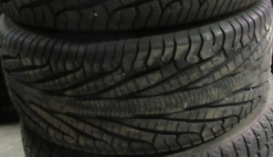 18 inch tires —2 of them—245-50-18(85 PERCENT TREAD) They are Go