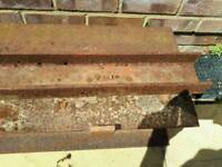 Reclaimed rsj heavy steel beams
