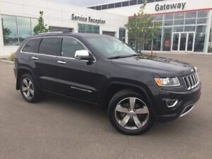 2015 Jeep Grand Cherokee Ltd 4X4 Heated Seats & Steering, Backup