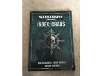 Warhammer chaos book for sale