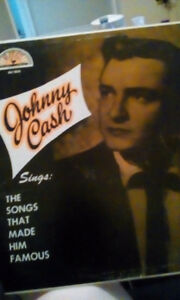 Johnny cash sings, the songs that made him famous