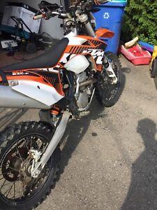 Ktm exc 350 2012