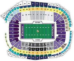 Minnesota Vikings Tickets - Various Games