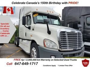 2013 Freightliner CASCADIA BRAND NEW 8 MICHELIN TIRES