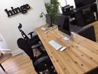 Flexible Desk Space in a Creative Studio for Rent in Southampton area