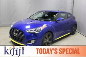2014 Hyundai Veloster AUTO Navigation (GPS),  Leather,  Heated S