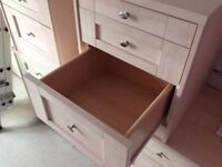 Bedside drawers and dressing table