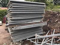 🔩 Solid Hoarding Panels } Site Security Fencing Panels